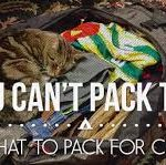 what to pack for camp infographic