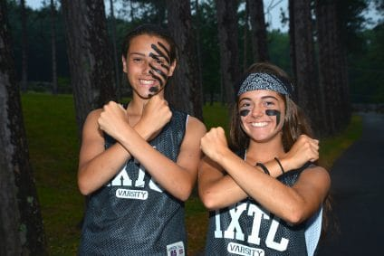 girls at ixtc camp