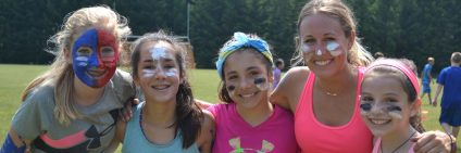 female campers at ISTC