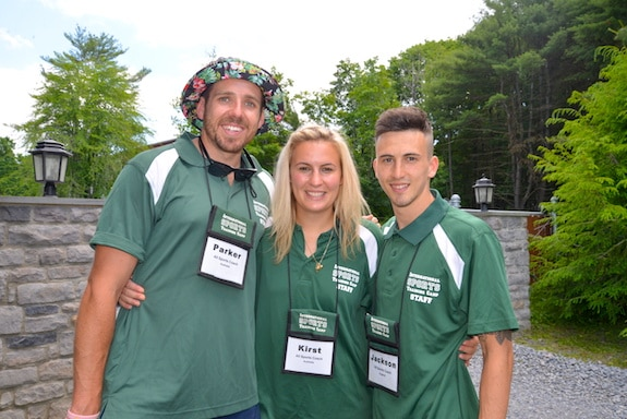 camp counselors at ISTC