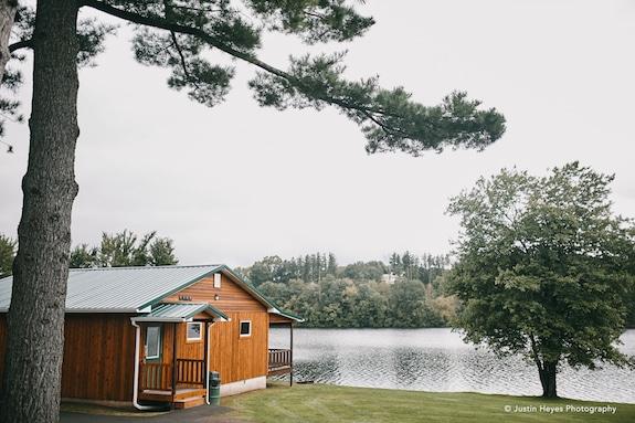 cabin at trout lake at ISTC