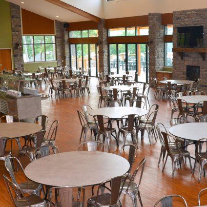 dining room at ISTC