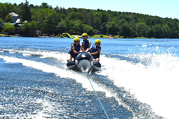 family water skiing