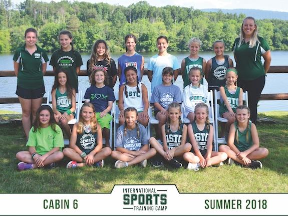 sports camp cabin 6 summer 2018